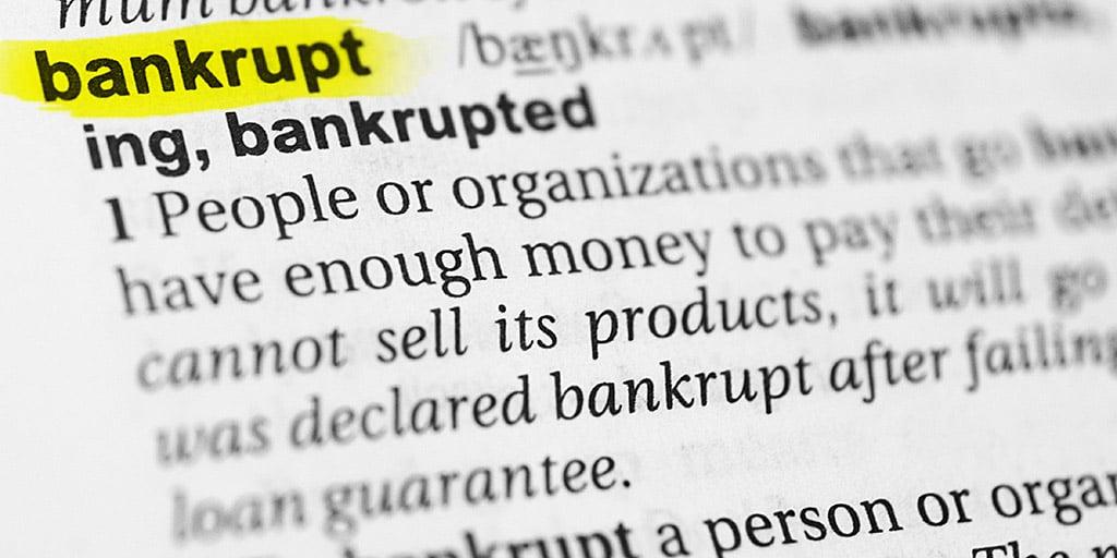 Bankrupt-business